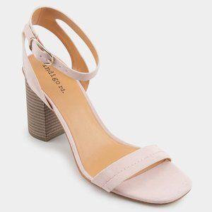 indigo rd. Aidan Suede Block Heel in Blush Size 7